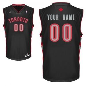 Toronto Raptors Swingman Personnalisé Alternate Maillot d'équipe de NBA - Noir pour Enfants