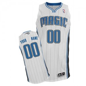 Maillot NBA Authentic Personnalisé Orlando Magic Home Blanc - Enfants