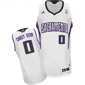 Sacramento Kings #0 Adidas Home Blanc Swingman Maillot d'équipe de NBA à vendre - Willie Cauley-Stein pour Homme