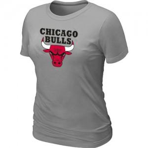 Chicago Bulls Big & Tall Gris clair T-Shirts d'équipe de NBA achats en ligne - pour Femme