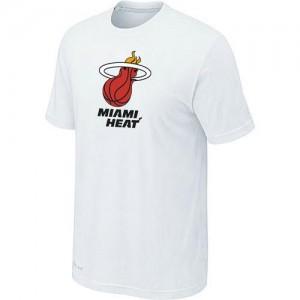 Miami Heat Big & Tall T-Shirts d'équipe de NBA - Blanc pour Homme