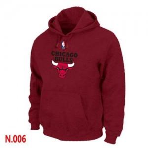 Sweat à capuche NBA Gris foncé Chicago Bulls Homme