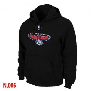 Sweat à capuche NBA Noir Atlanta Hawks Homme