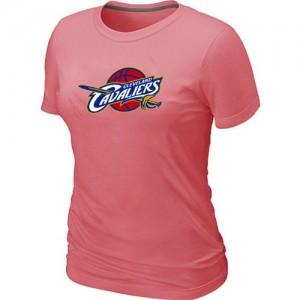 T-shirt principal de logo Cleveland Cavaliers NBA Big & Tall Rose - Femme