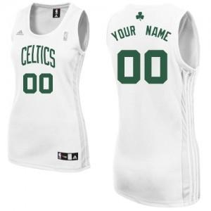 Boston Celtics Swingman Personnalisé Home Maillot d'équipe de NBA - Blanc pour Femme