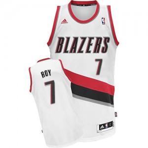 Maillot Swingman Portland Trail Blazers NBA Home Blanc - #7 Brandon Roy - Homme