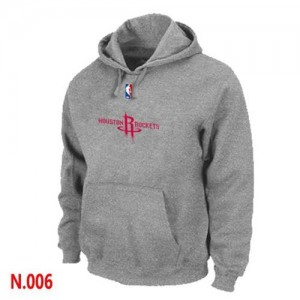Pullover Sweat à capuche Houston Rockets NBA Gris - Homme