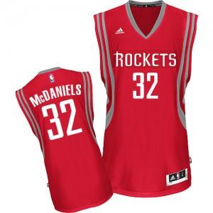 Maillot NBA Swingman KJ McDaniels #32 Houston Rockets Road Rouge - Homme