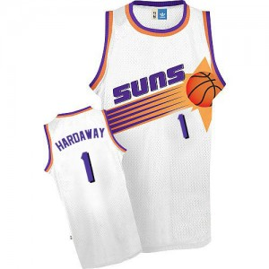 Maillot NBA Phoenix Suns #1 Penny Hardaway Blanc Adidas Authentic Throwback - Homme