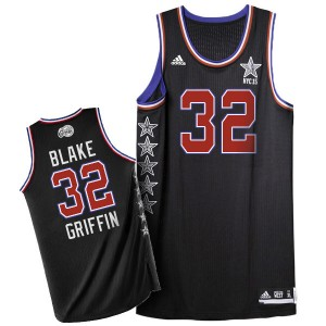 Maillot Authentic Los Angeles Clippers NBA 2015 All Star Noir - #32 Blake Griffin - Homme