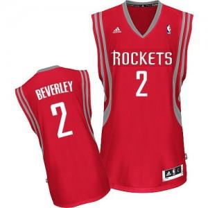 Maillot NBA Houston Rockets #2 Patrick Beverley Rouge Adidas Swingman Road - Homme