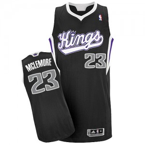 Sacramento Kings Ben McLemore #23 Alternate Authentic Maillot d'équipe de NBA - Noir pour Homme