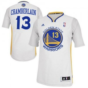 Maillot Swingman Golden State Warriors NBA Alternate Blanc - #13 Wilt Chamberlain - Homme