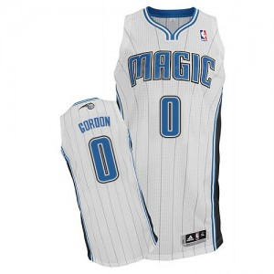Orlando Magic Aaron Gordon #0 Home Authentic Maillot d'équipe de NBA - Blanc pour Homme