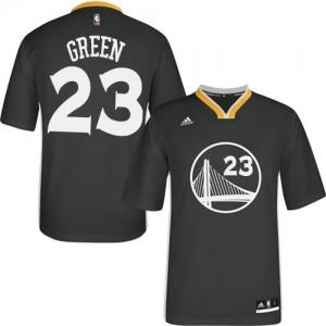 Golden State Warriors Draymond Green #23 Alternate Authentic Maillot d'équipe de NBA - Noir pour Homme