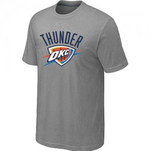 T-Shirts NBA Oklahoma City Thunder Big & Tall Gris - Homme