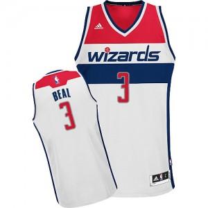 Washington Wizards #3 Adidas Home Blanc Swingman Maillot d'équipe de NBA pas cher - Bradley Beal pour Homme
