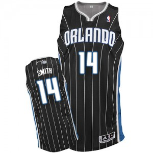 Maillot NBA Authentic Jason Smith #14 Orlando Magic Alternate Noir - Homme