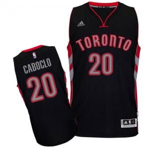 Maillot Swingman Toronto Raptors NBA Alternate Noir - #20 Bruno Caboclo - Homme
