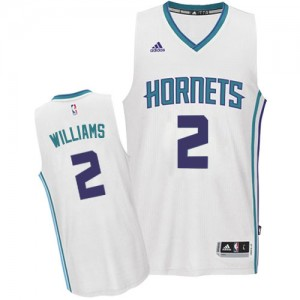 Maillot NBA Authentic Marvin Williams #2 Charlotte Hornets Home Blanc - Homme