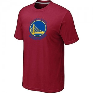T-shirt principal de logo Golden State Warriors NBA Big & Tall Rouge - Homme