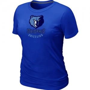 Memphis Grizzlies Big & Tall T-Shirts d'équipe de NBA - Bleu pour Femme