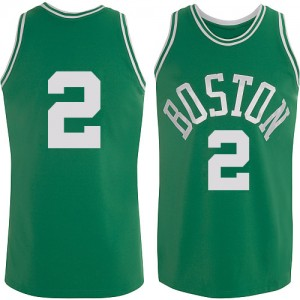 Maillot Swingman Boston Celtics NBA Throwback Vert - #2 Red Auerbach - Homme