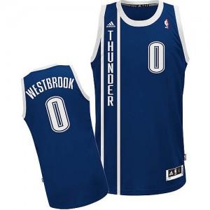 Maillot Adidas Bleu marin Alternate Swingman Oklahoma City Thunder - Russell Westbrook #0 - Enfants