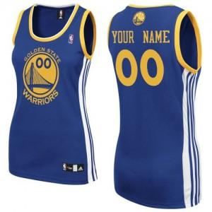 Golden State Warriors Personnalisé Adidas Road Bleu royal Maillot d'équipe de NBA Magasin d'usine - Authentic pour Femme