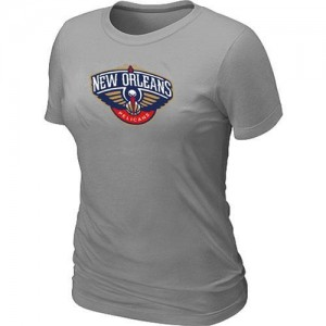 T-Shirts NBA New Orleans Pelicans Big & Tall Gris - Femme