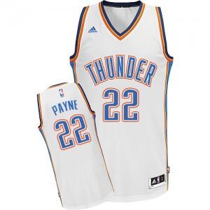 Maillot Adidas Blanc Home Swingman Oklahoma City Thunder - Cameron Payne #22 - Homme