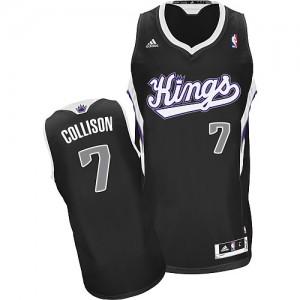 Maillot NBA Swingman Darren Collison #7 Sacramento Kings Alternate Noir - Homme