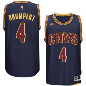 Maillot Authentic Cleveland Cavaliers NBA Bleu marin - #4 Iman Shumpert - Homme