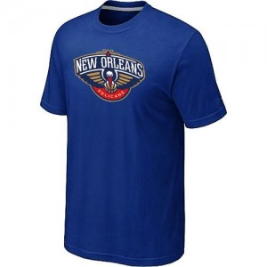 T-Shirts NBA New Orleans Pelicans Big & Tall Bleu - Homme