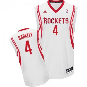 Maillot Swingman Houston Rockets NBA Home Blanc - #4 Charles Barkley - Homme