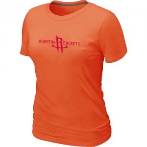 T-Shirts Orange Big & Tall Houston Rockets - Femme