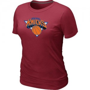 T-Shirts NBA New York Knicks Big & Tall Rouge - Femme