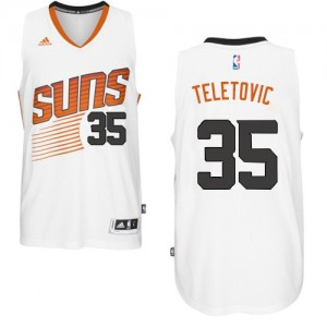 Maillot NBA Swingman Mirza Teletovic #35 Phoenix Suns Home Blanc - Homme