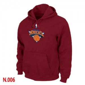 Sweat à capuche NBA New York Knicks Rouge - Homme