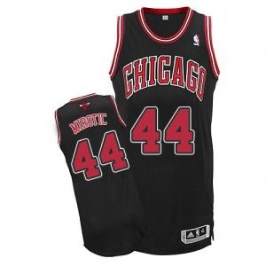 Maillot NBA Noir Nikola Mirotic #44 Chicago Bulls Alternate Authentic Homme Adidas