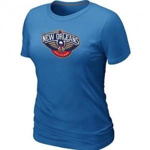 T-Shirts NBA New Orleans Pelicans Big & Tall Bleu clair - Femme