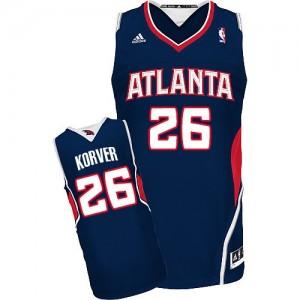 Maillot Swingman Atlanta Hawks NBA Road Bleu marin - #26 Kyle Korver - Homme