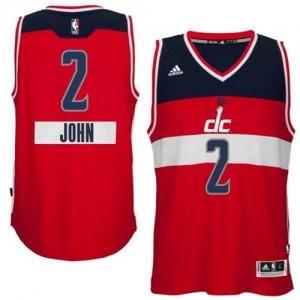 Washington Wizards #2 Adidas 2014-15 Christmas Day Rouge Authentic Maillot d'équipe de NBA pas cher - John Wall pour Homme