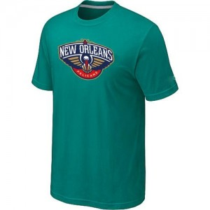 T-Shirts NBA New Orleans Pelicans Big & Tall Aqua Green - Homme