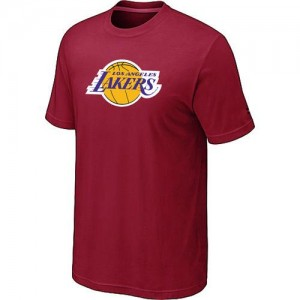 Los Angeles Lakers Big & Tall T-Shirts d'équipe de NBA - Rouge pour Homme