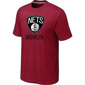 Brooklyn Nets Big & Tall Rouge T-Shirts d'équipe de NBA préférentiel - pour Homme