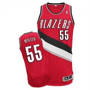 Portland Trail Blazers Mike Miller #55 Alternate Authentic Maillot d'équipe de NBA - Rouge pour Homme
