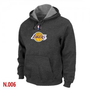 Sweat à capuche Gris foncé Los Angeles Lakers - Homme