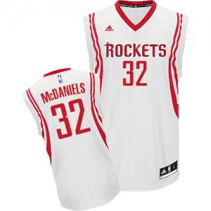 Maillot NBA Swingman KJ McDaniels #32 Houston Rockets Home Blanc - Homme