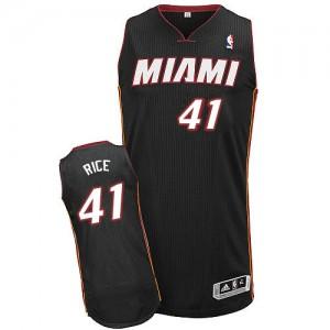 Miami Heat #41 Adidas Road Noir Authentic Maillot d'équipe de NBA pas cher - Glen Rice pour Homme